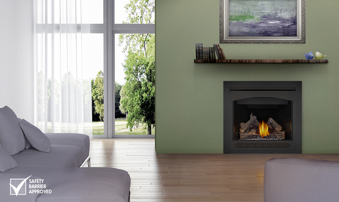 insert w natural inserts with continental fireplace gas vent vented blower surround