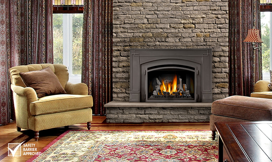 NAPOLEON INFRARED 3 GAS FIREPLACE INSERT ON SALE NOW!