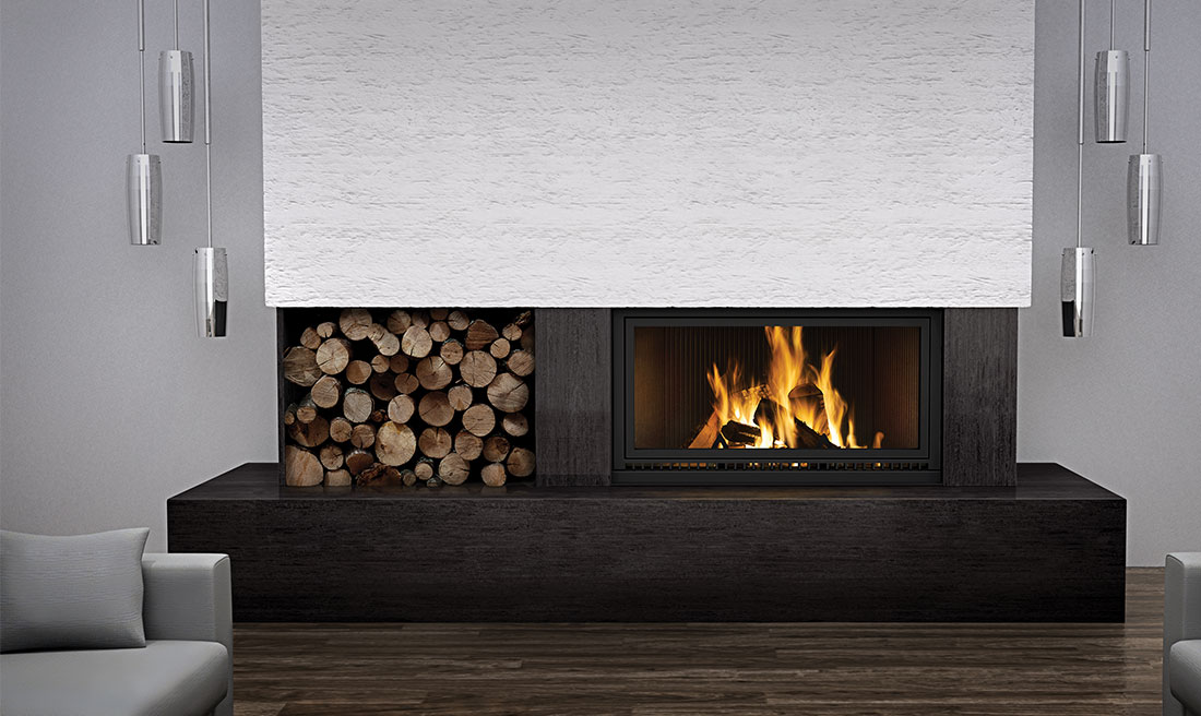 Napoleon High Country 7000 fireplaces linear wood burning
