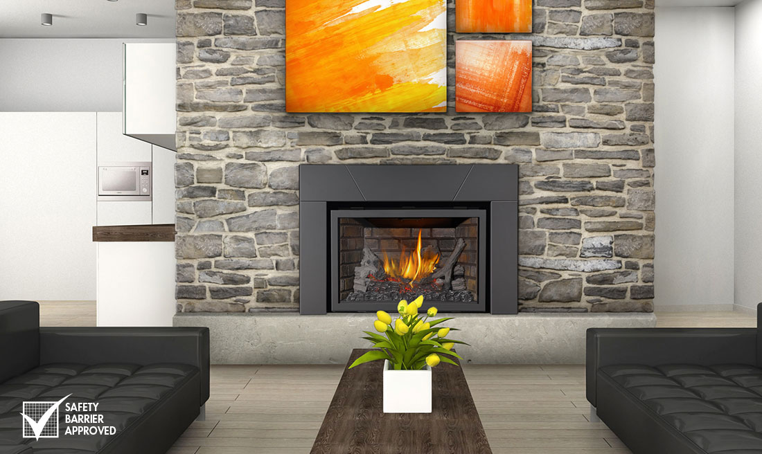 Napoleon Infrared X3  Gas Fireplace Insert - XIR3