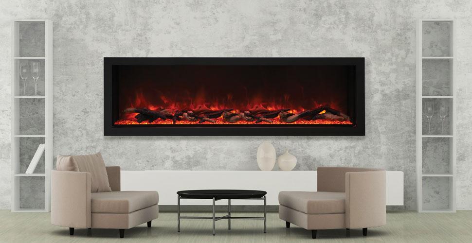Amantii Bi 72 Deep Xt 72 Wide 18 Tall Electric Fireplace