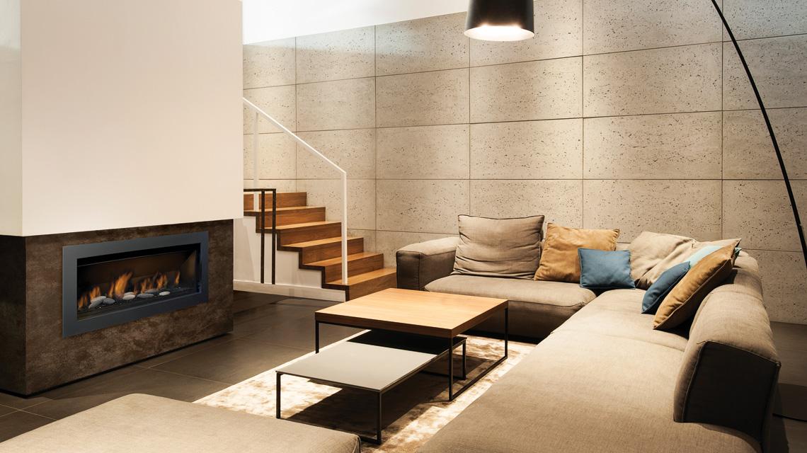 Sierra Flame - The Bennett 45 – Direct Vent Linear Gas Fireplace ...