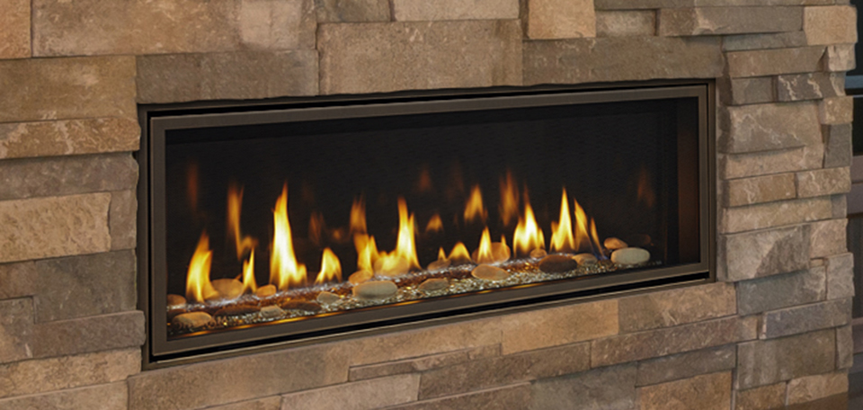Majestic Echelon Ii 48 Linear Direct Vent Gas Fireplace Complete
