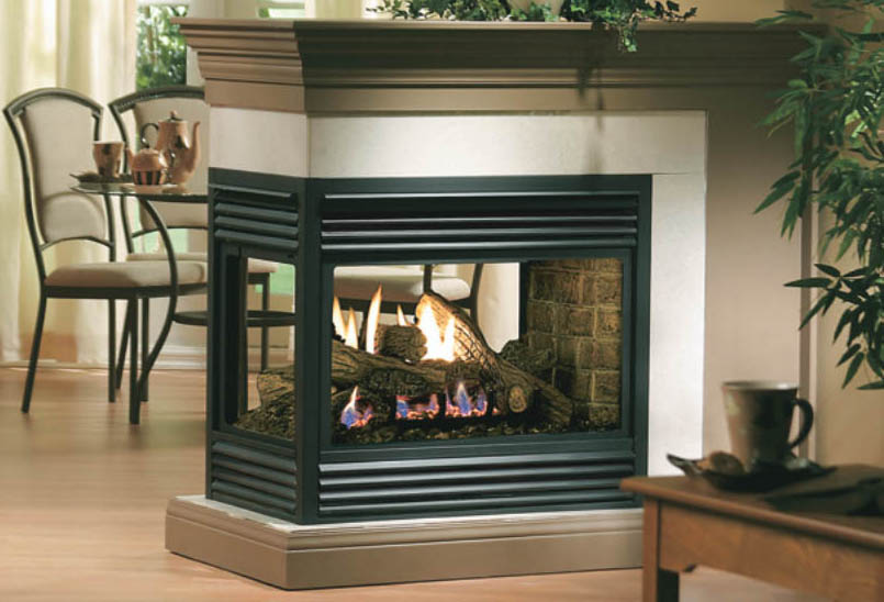 Kingsman MDV31 see through fireplace